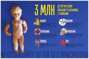 Травмы детей